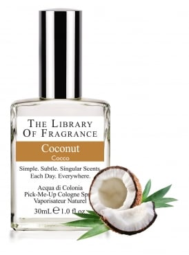 The Library of Fragrance Coconut 30ml Cologne
