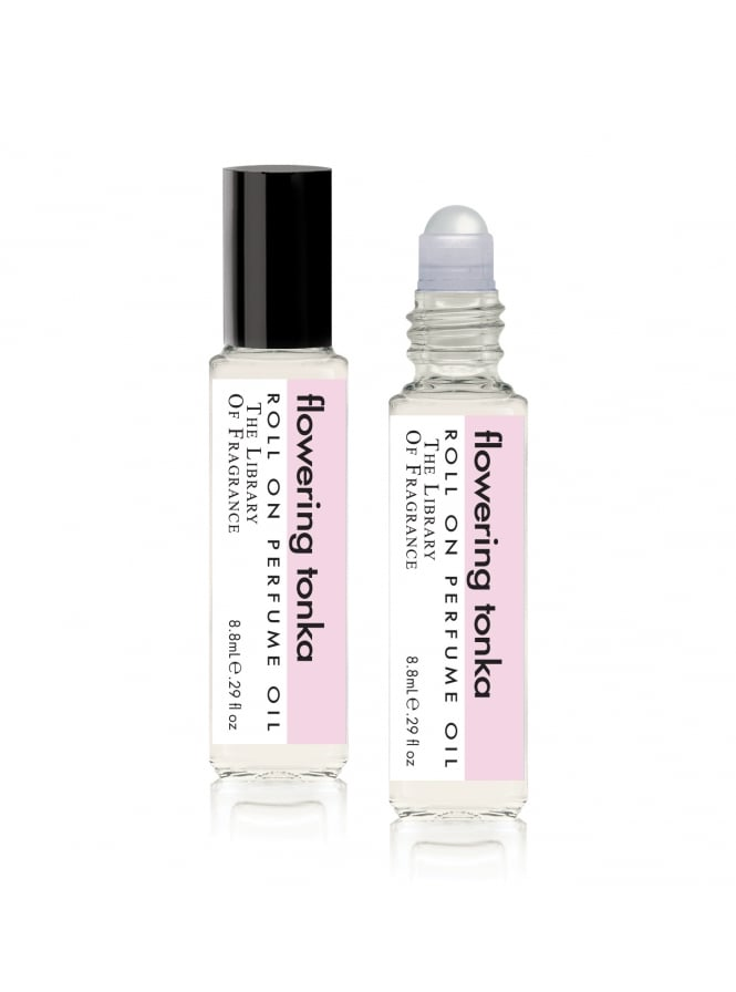 The Library Of Fragrance Flowering Tonka Roll-on Perfume Oil 8.8ml
