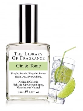 The Library of Fragrance Gin & Tonic 30ml Cologne
