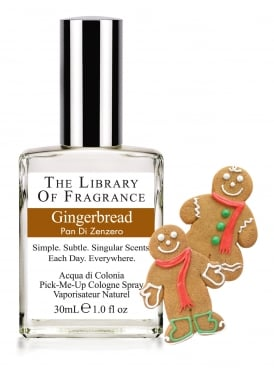 The Library of Fragrance Gingerbread 30ml Cologne