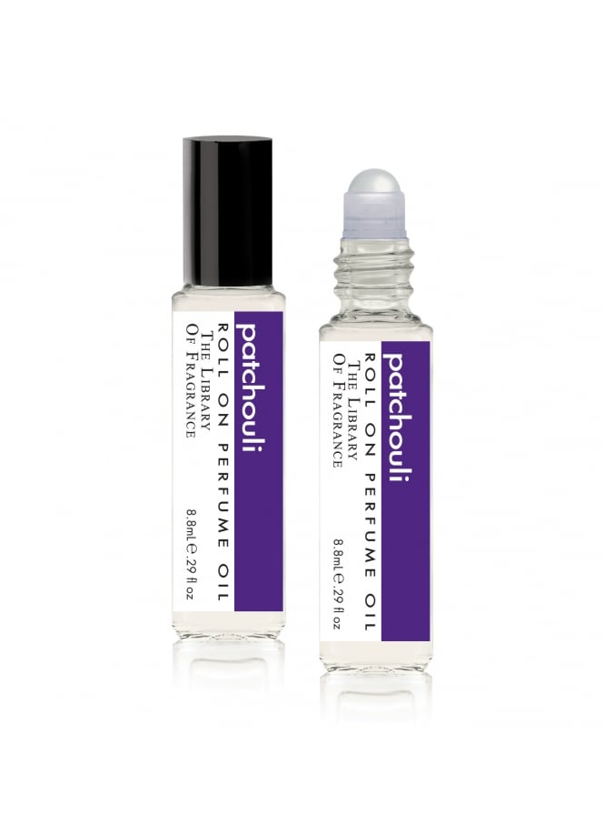 The Library Of Fragrance Patchouli Roll-on Perfume Oil 8.8ml