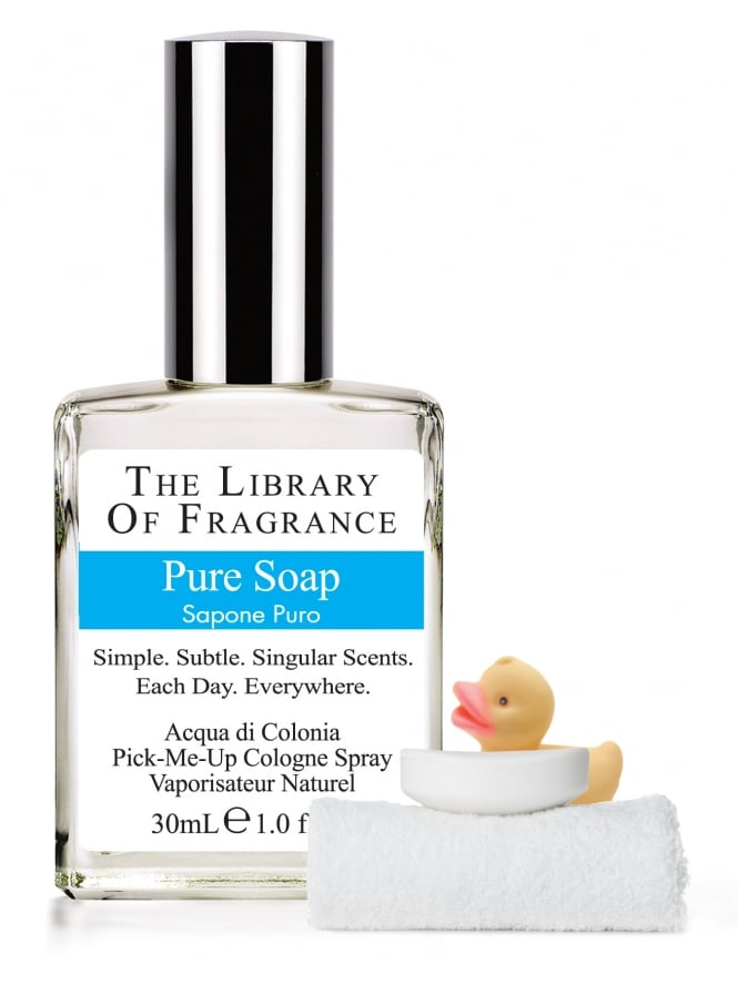 The Library Of Fragrance Pure Soap 30ml Cologne