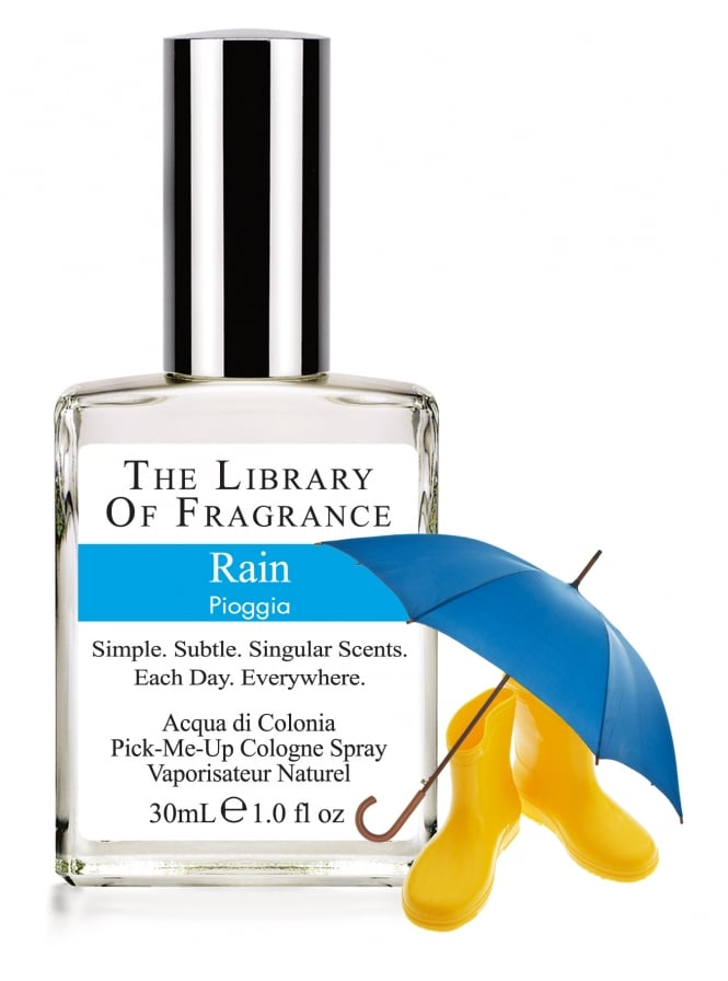 The Library Of Fragrance Rain 30ml Cologne