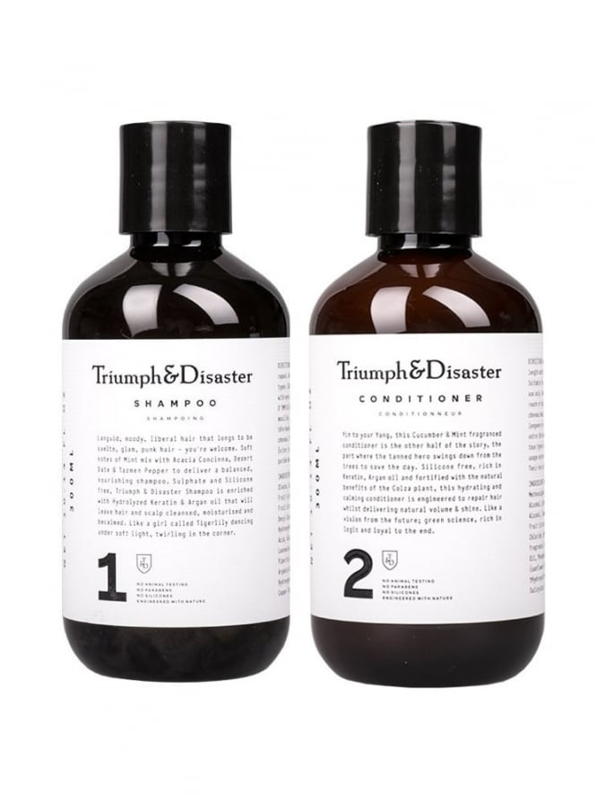 Triumph and Disaster Shampoo and Conditioner Kit 300ml