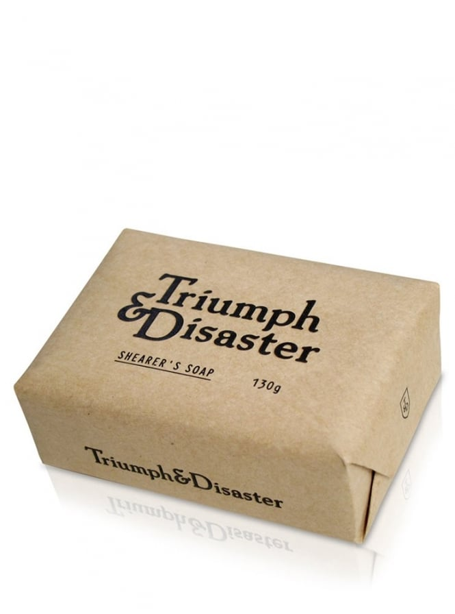 Triumph and Disaster Shearers Exfoliating Soap 130g