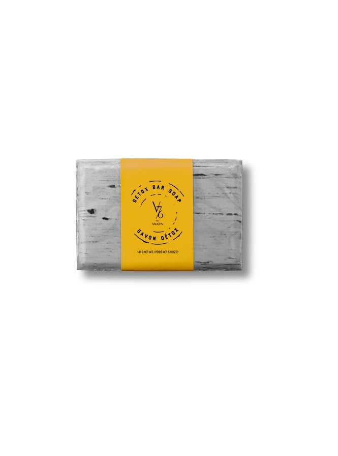 V76 By Vaughn Detox Soap Bar 140g