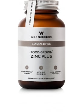General Living Food-Grown Zinc Plus 30 Capsules