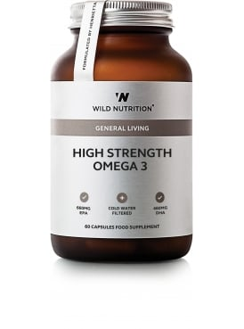 General Living High Strength Omega 3 60 Capsules