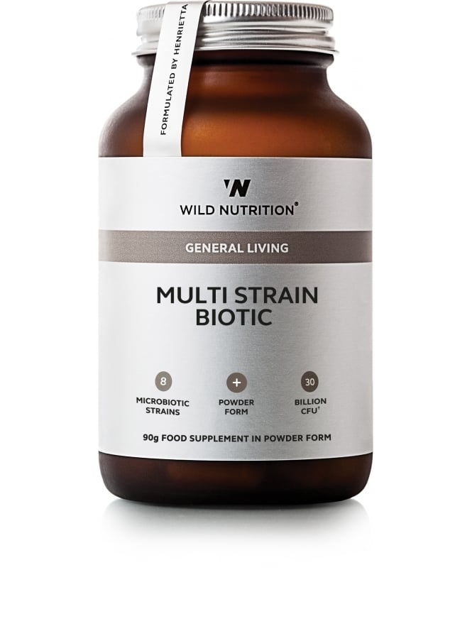 Wild Nutrition Supplements General Living Multi-Strain Biotic 90g