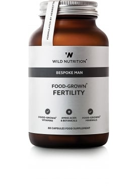Bespoke Man Food-Grown Fertility 60 Capsules