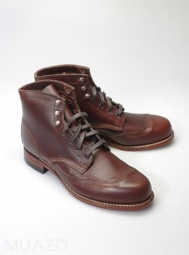 Addison Brown Wingtip Boot